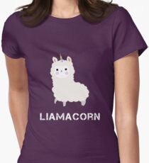 Llamacorn Funny Lllama Unicorn kawaii Graphic Tee Shirt T-Shirt