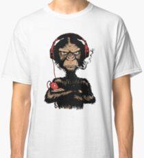 Smoking Monkey - Walkman Classic T-Shirt