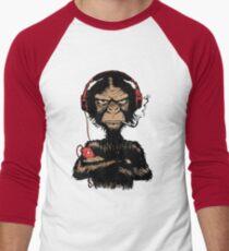 Smoking Monkey - Walkman Men's Baseball ¾ T-Shirt