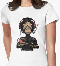 Smoking Monkey - Walkman T-Shirt