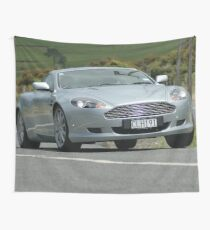 Aston on the Edge Wall Tapestry