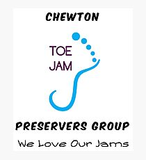 Chewton Toe Jam Preservers Group Photographic Print