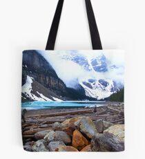 Moraine Lake, Canada Tote Bag