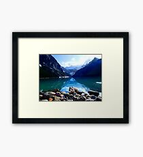 Lake Louise, Canada Framed Print