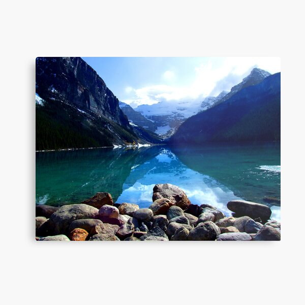 Lake Louise, Canada Metal Print