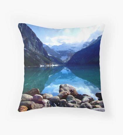 Lake Louise, Canada Throw Pillow