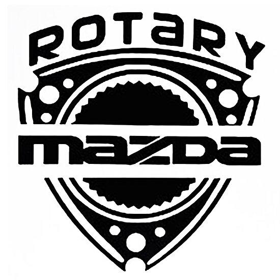 MAZDA ROTARY by thatstickerguy
