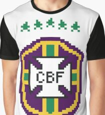 Brazil national football crest Graphic T-Shirt