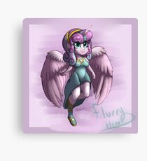 Flurry Heart Anthro Canvas Print