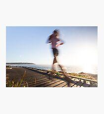 Morning run Photographic Print