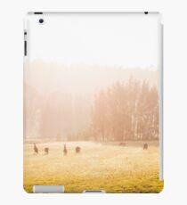 Kangaroos at sunrise iPad Case/Skin