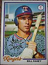 250 - Bill Fahey by Foob's Baseball Cards