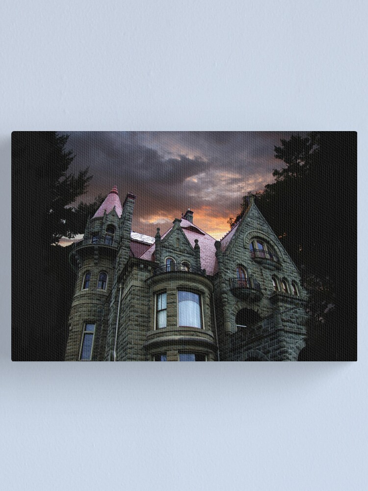 Alternate view of Castle sunset Canvas Print