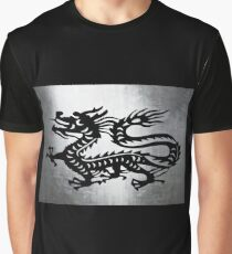 Vintage Metal Dragon Graphic T-Shirt