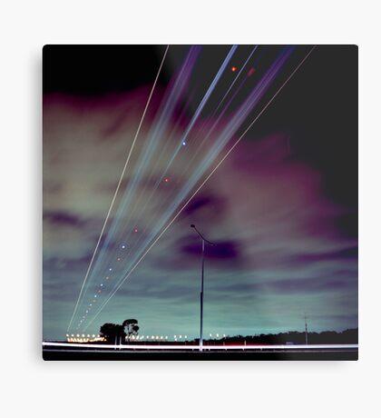 Skyroad Metal Print