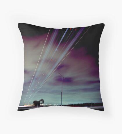 Skyroad Throw Pillow