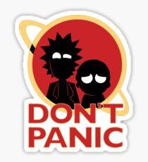 Don´t Panic Sticker