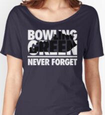 Bowling Green Massacre (White/Black) Women's Relaxed Fit T-Shirt