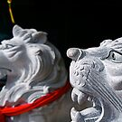 Lions on Guard by Sacha Fernandez