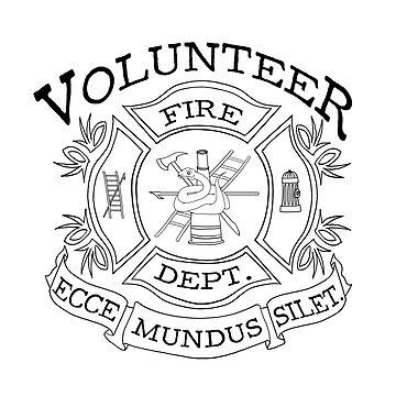 volunteer fire department  by neutralghost