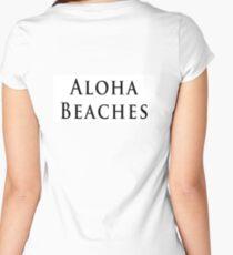 Aloha Beaches! JPG Women's Fitted Scoop T-Shirt