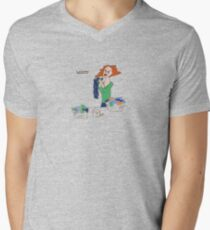 w00t comic Mens V-Neck T-Shirt