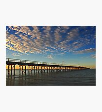 Urangan Pier at Hervey Bay Photographic Print