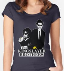 'The Kingslayer Brothers' Women's Fitted Scoop T-Shirt