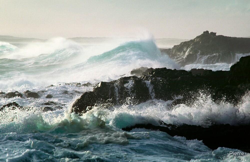 Cape Schank Surf by Pierre