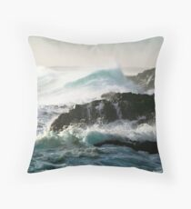 Cape Schank Surf Throw Pillow