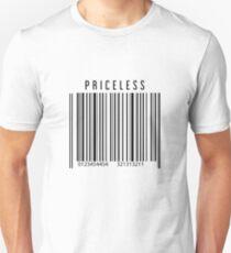 Priceless Barcode Unisex T-Shirt