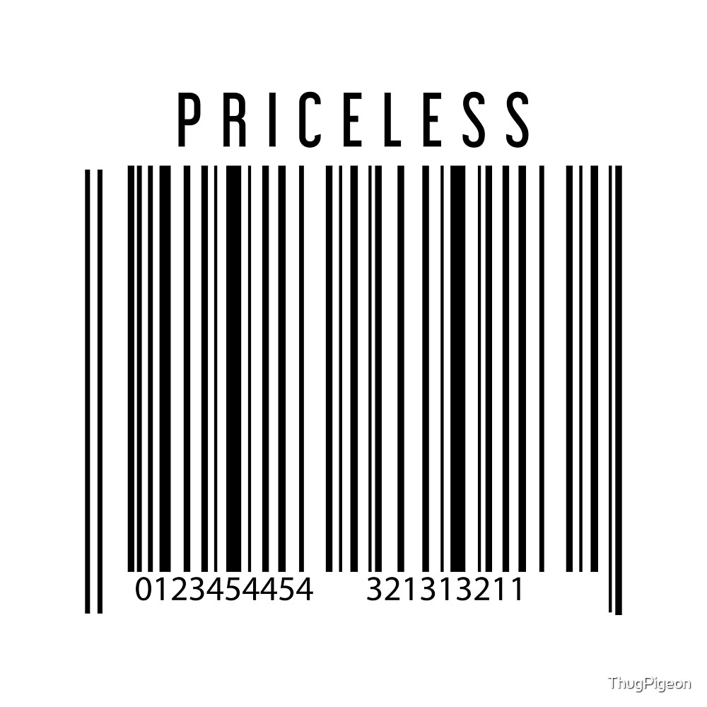 Priceless Barcode by ThugPigeon