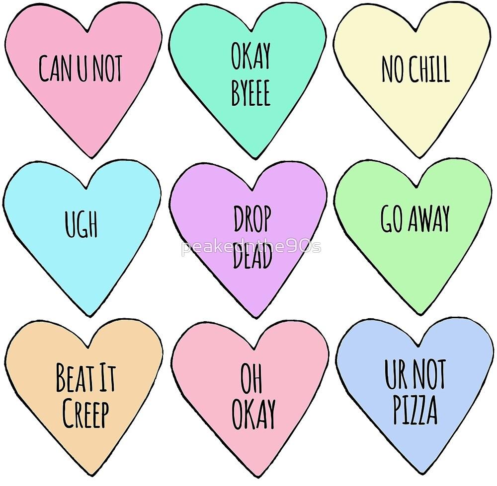 Rude Conversation Hearts Candy Wwwtopsimagescom