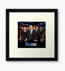 The Daily Show Framed Print