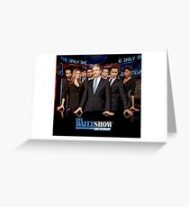 The Daily Show Greeting Card