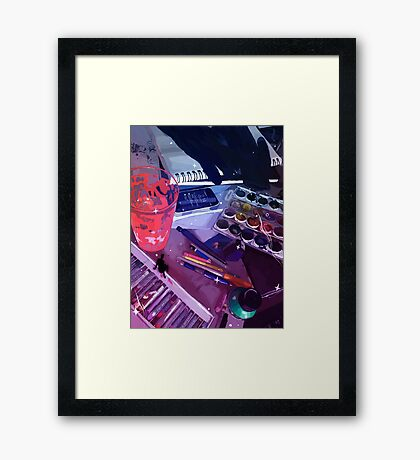 Workspace Framed Print