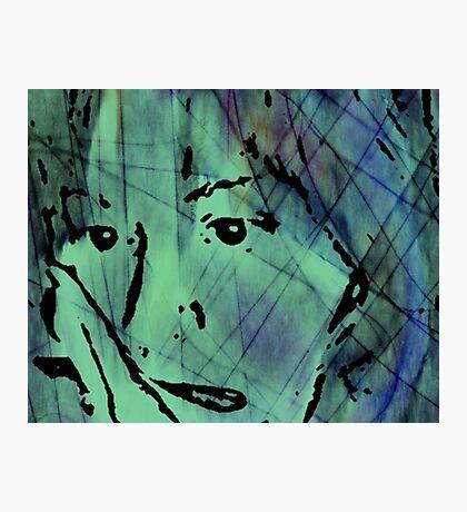 A Green Stare Photographic Print