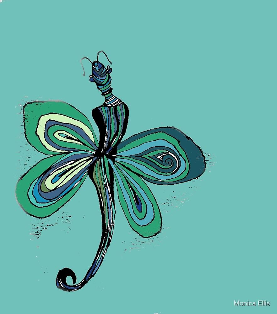 Green Fairy by Monica Ellis
