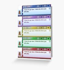The Sims 3  Greeting Card