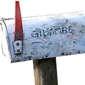 Gilmore Girl Mailbox by tziggles
