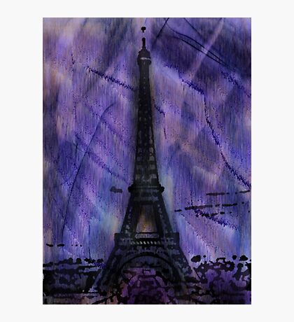 A Paris Winter Photographic Print