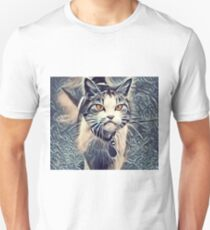 One Pissed Off Kitty Unisex T-Shirt