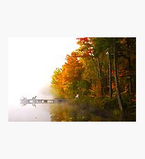 Brume d'automne Photographic Print