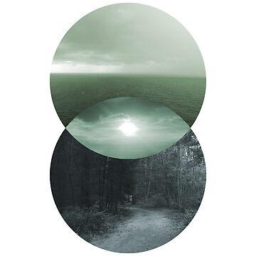 Duality - Green & Blue by sponk