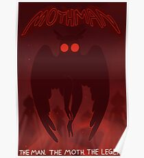 The man, the moth, the legend Poster
