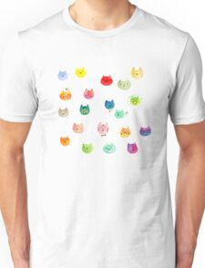 Cat confetti Unisex T-Shirt