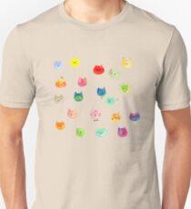 Cat confetti Unisex T-Shirt