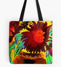 Sunflowers Southwest Tote Bag