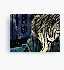 A Girl In A Room Canvas Print