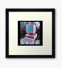 Vaporwave - PC Framed Print